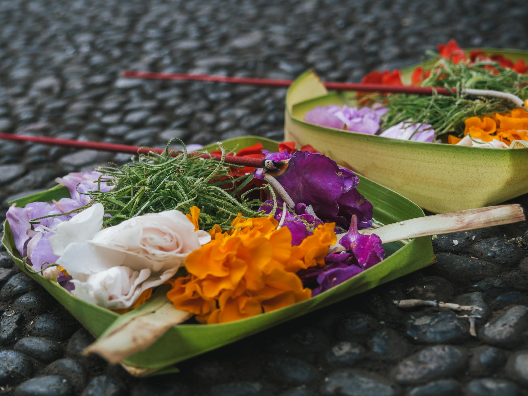 Mange prie aime : Bali