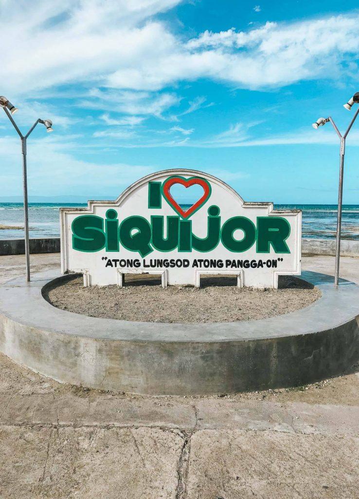 L'affiche de Siquijor aux Philippines