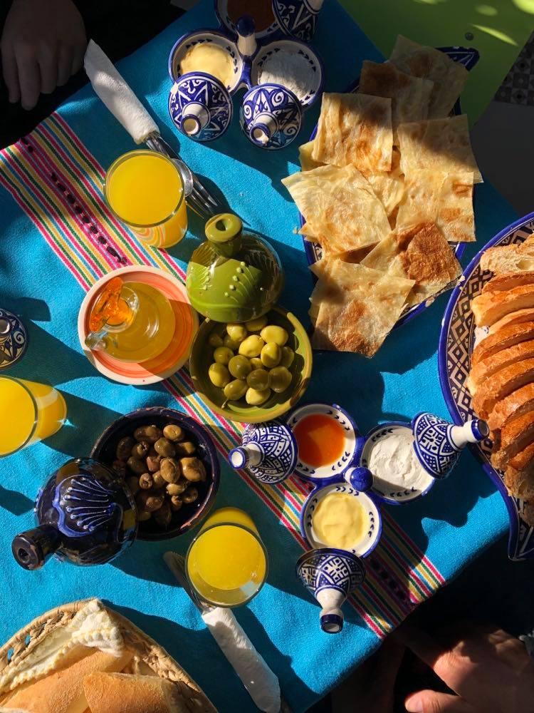 petit déjeuner marocain - Nomade Amoureux