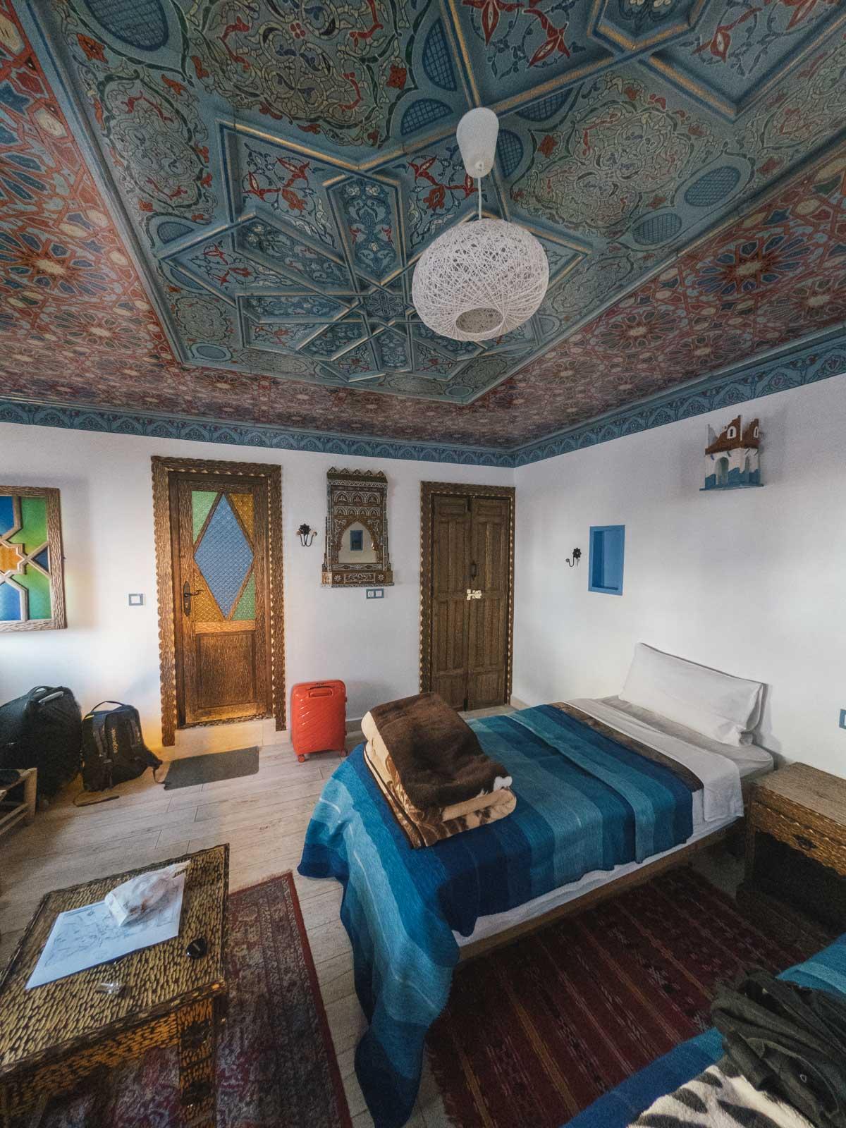 chambre d'une Riad Maroc- Nomade Amoureux