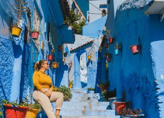 Ruelle bleue - Nomade Amoureux