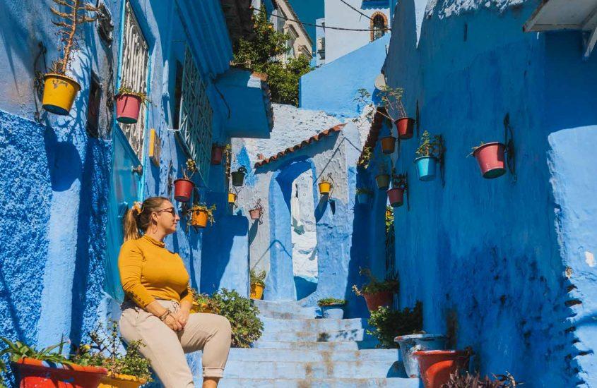 48 HEURES À CHEFCHAOUEN- La perle bleue du Maroc