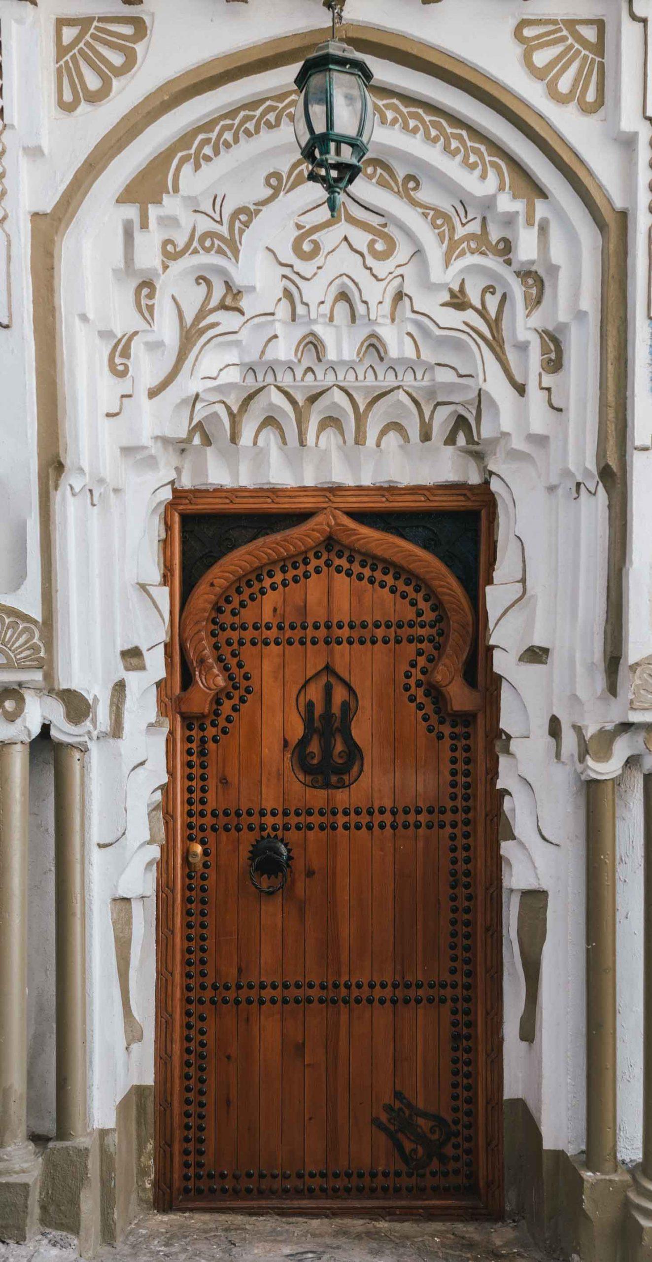 Porte en bois - Maroc - Nomade Amoureux